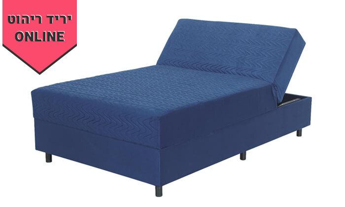 5 מיטה אורתופדית ברוחב וחצי דגם מאיה - צבעים לבחירה