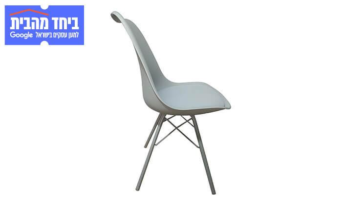 6 כיסא אוכל עם מושב מרופד