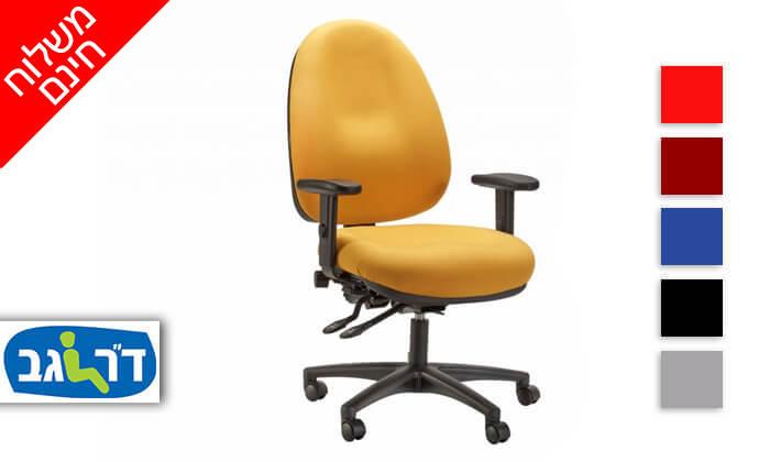 """2 ד""""ר גב: כיסא מחשב אורתופדי OPTIMA COMFORT - משלוח חינם!"""