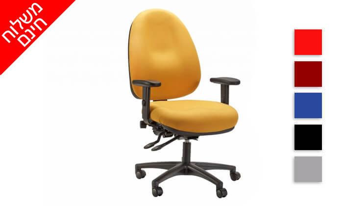 """3 ד""""ר גב: כיסא מחשב אורתופדי OPTIMA COMFORT - משלוח חינם!"""