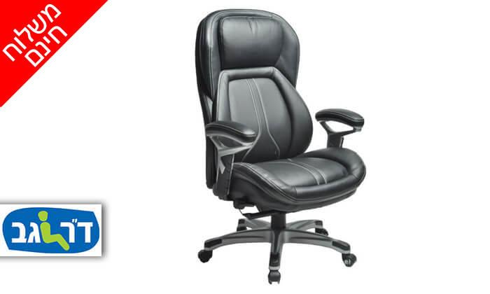 """2 ד""""ר גב: כסא מנהלים אורתופדי CHAMP - משלוח חינם!"""