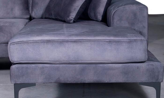 3 ספה תלת מושבית עם שזלונג Vitorio Divani