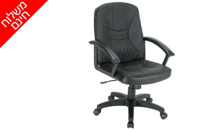 2 כיסא מנהליםאורתופדידגם כפיר - משלוח חינם!