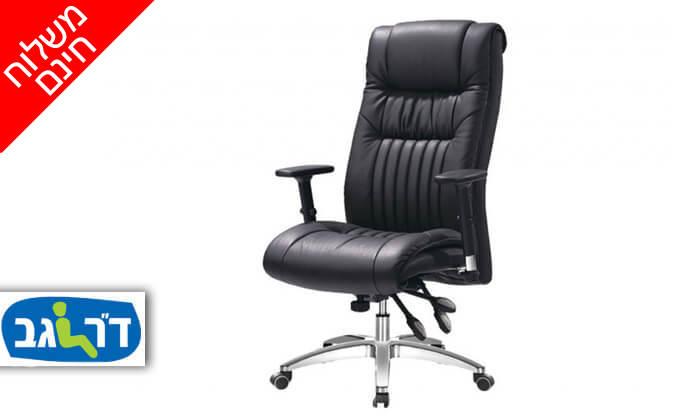 """2 ד""""ר גב: כיסא אורתופדי CONSUL - משלוח חינם"""