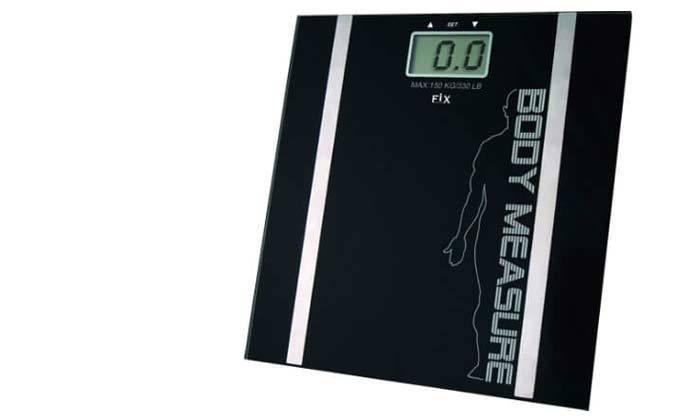 3 משקל דיגיטלי עם מד שומן