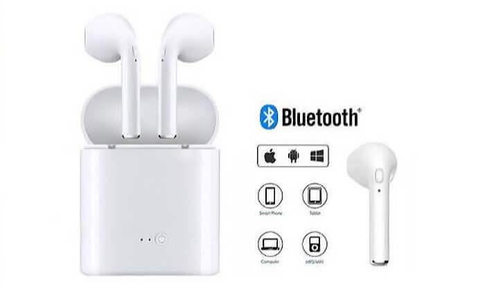 7 אוזניות Bluetooth אלחוטיות
