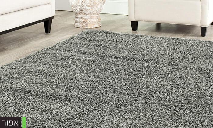 4 שטיח לסלון קטן דגם שאגי