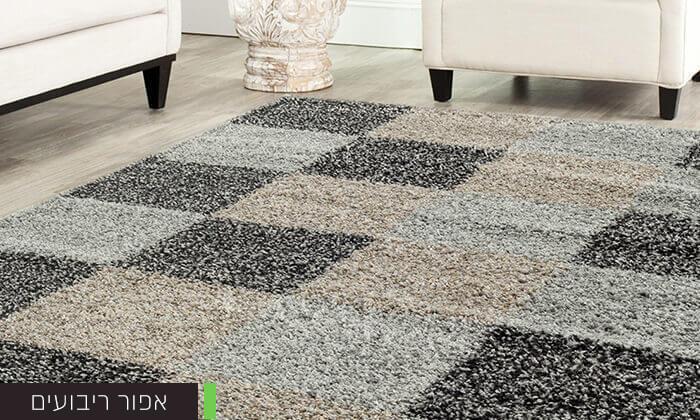 6 שטיח לסלון קטן דגם שאגי