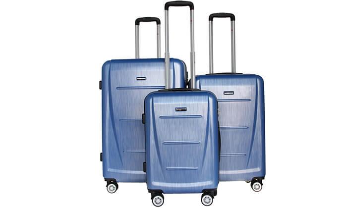 4 סט 3 מזוודות SWISS