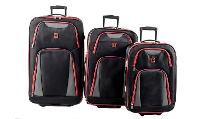 6 מזוודות SWISS