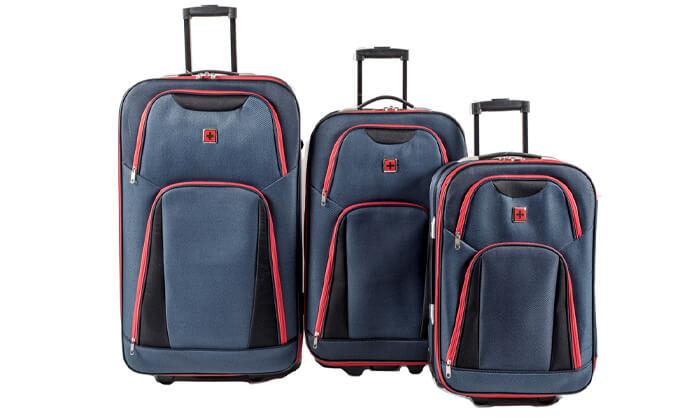9 מזוודות SWISS