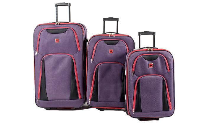 15 מזוודות SWISS