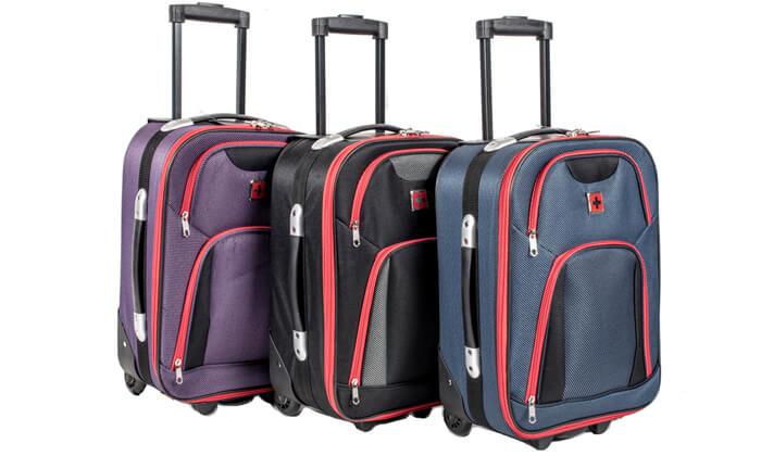16 מזוודות SWISS