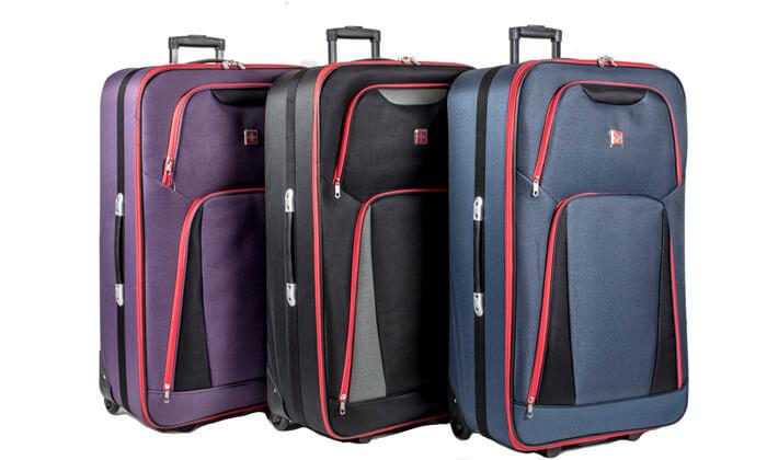 17 מזוודות SWISS
