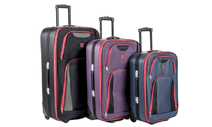 25 מזוודות SWISS