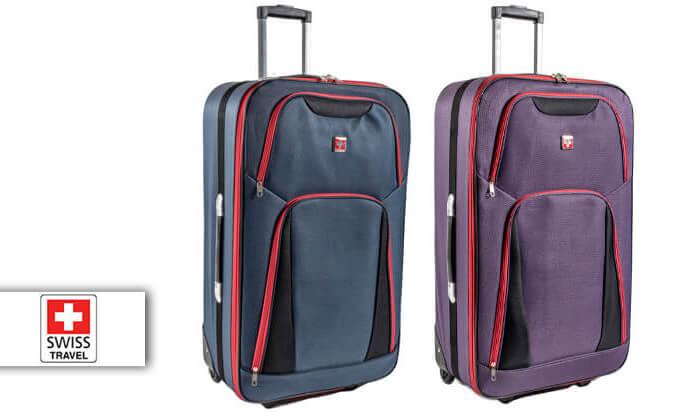 2 מזוודות SWISS