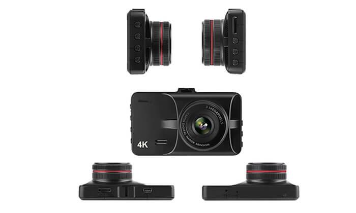 3 מצלמת דרך 4K לרכב