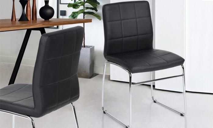 6 כיסא אוכל Homax דגם אדגר