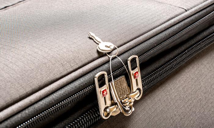 20 סט 3  מזוודות בד SWISS TRAVEL PREMIUM