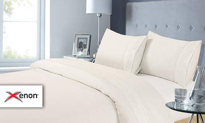 2 סט מצעים למיטה זוגית XENON - משלוח חינם!