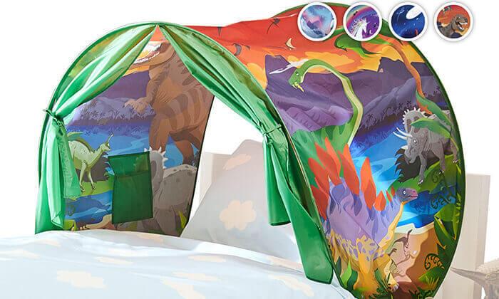 4 אוהל חלומות למיטת ילדים