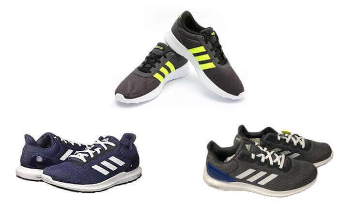 2 נעלי ספורט לגברים אדידס adidas