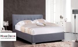 מיטה מרופדת ברוחב וחצי