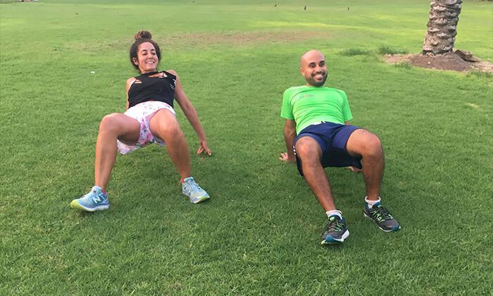 2 אימון כושר אישי עם סרינה קרסלי, תל אביב