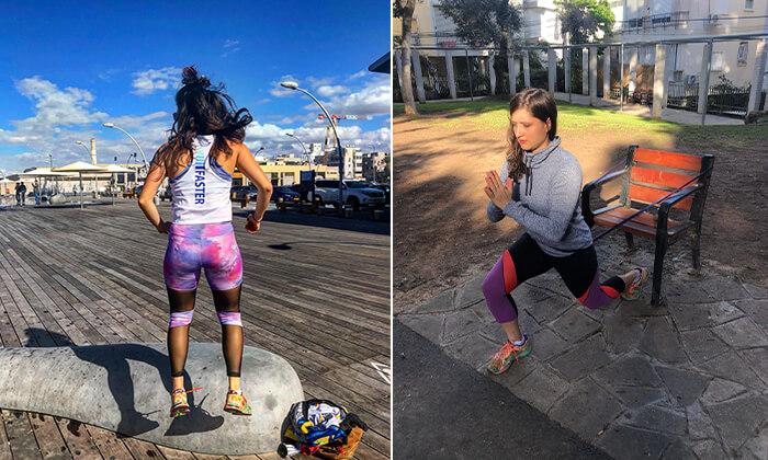 5 אימון כושר אישי עם סרינה קרסלי, תל אביב