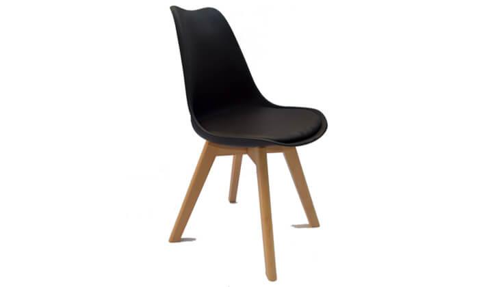 3 כיסא מרופד לפינת אוכל ROSSO ITALY