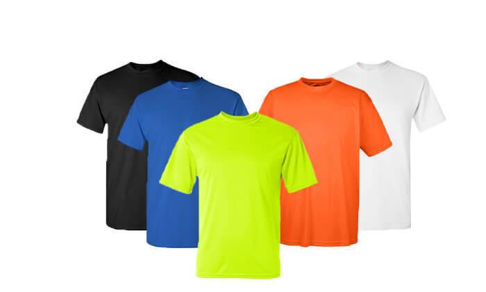 2 סט 5 חולצות מנדפות זיעה T-Gold