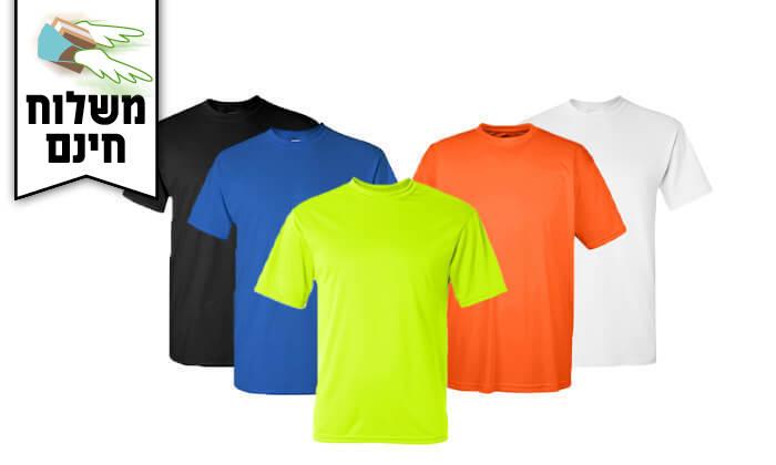 9 סט 6 חולצות מנדפות זיעה T-Gold  - משלוח חינם