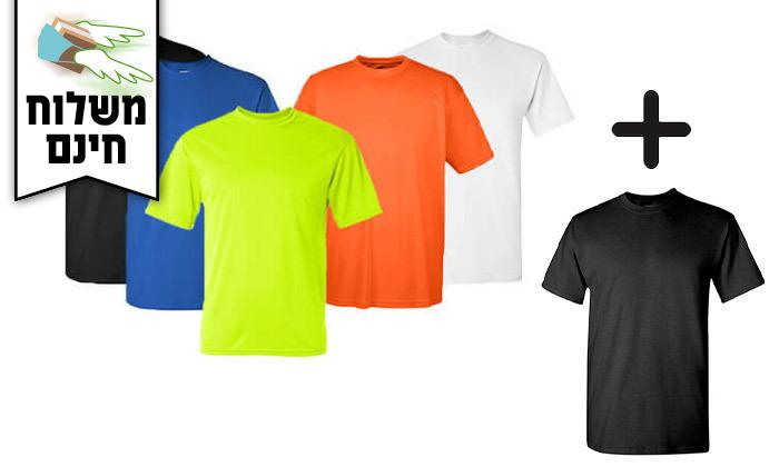 2 סט 6 חולצות מנדפות זיעה T-Gold  - משלוח חינם