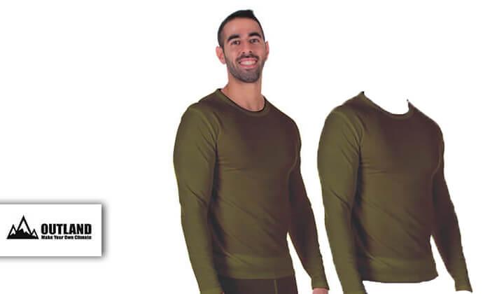2 זוג חולצות תרמיות לגבר - משלוח חינם