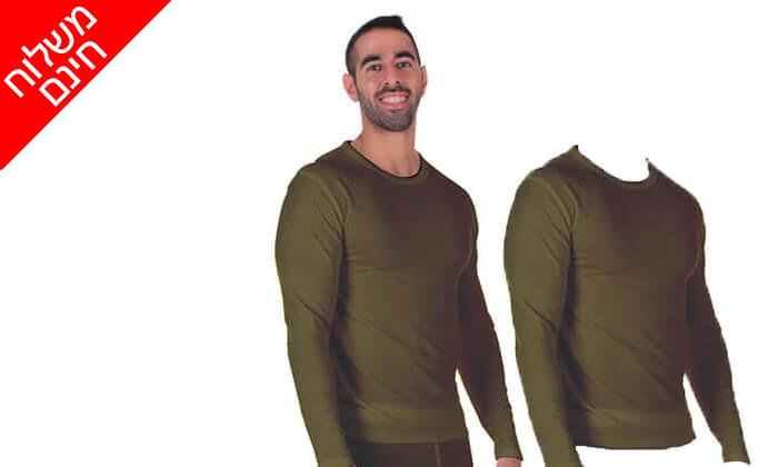 5 זוג חולצות תרמיות לגבר - משלוח חינם