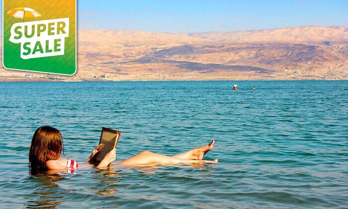 2 חוף ביאנקיני ים המלח - כרטיס כניסה