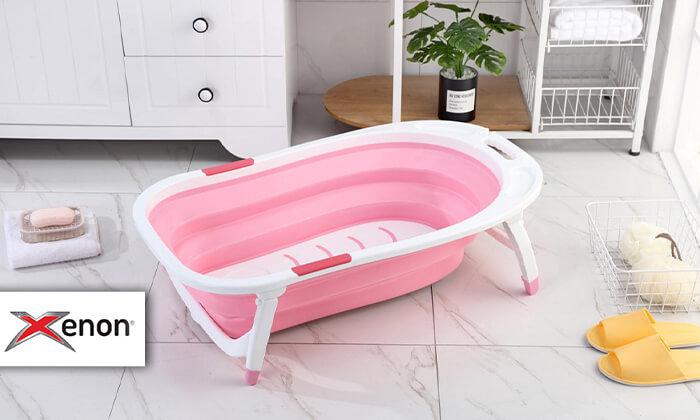 2 אמבטיית תינוק מתקפלת XENON