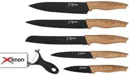 5 סכיני שף XENON וקולפן מתנה