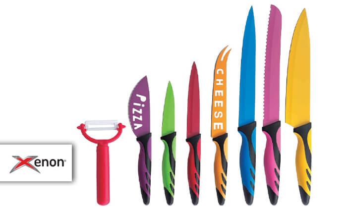 2 סט 8 סכינים קרמיותXENON