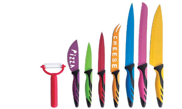 3 סט 8 סכינים קרמיותXENON