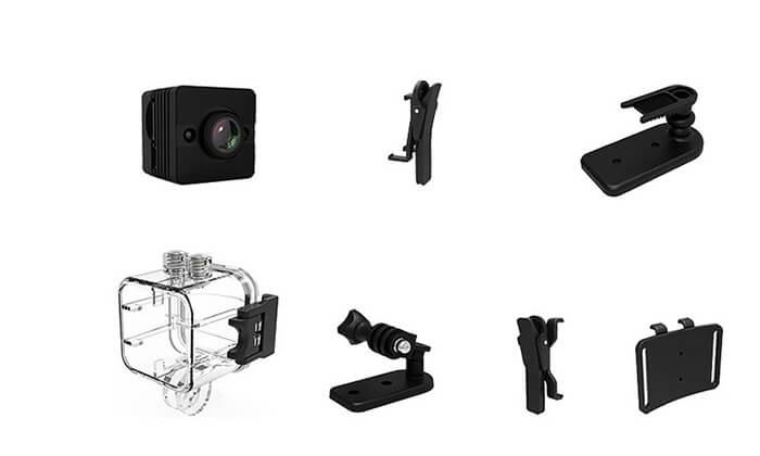 4 מצלמת וידאו אקסטרים זעירה
