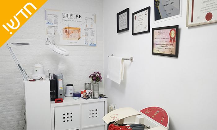 4 טיפולי פנים בקליניקה של מלאני בורנשטיין, אשקלון