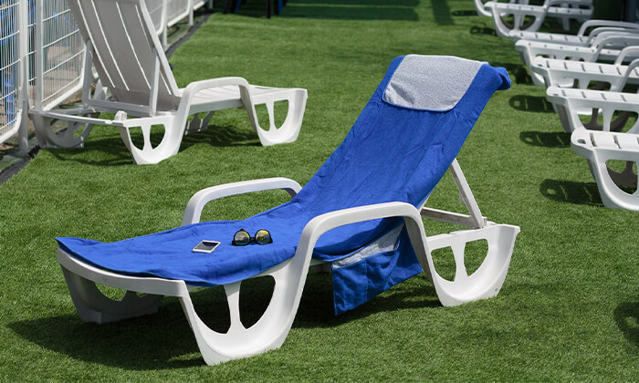 5 מגבת לכיסא חוף Xenon