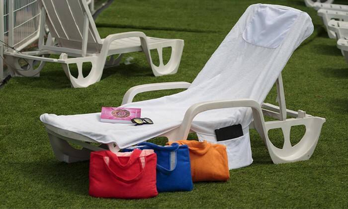 2 מגבת לכיסא חוף Xenon