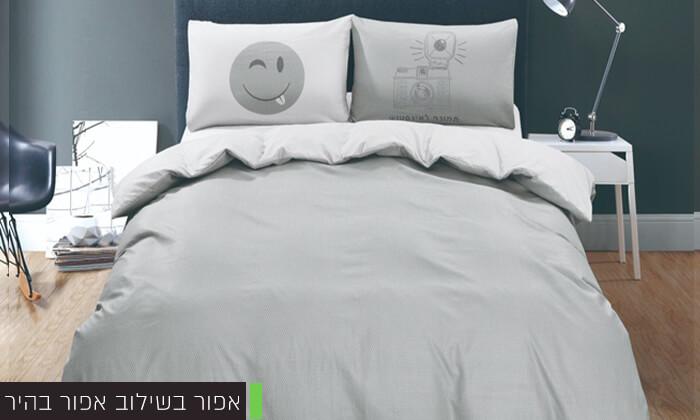 7 סט מצעים מיקרוסאטן למיטה זוגית