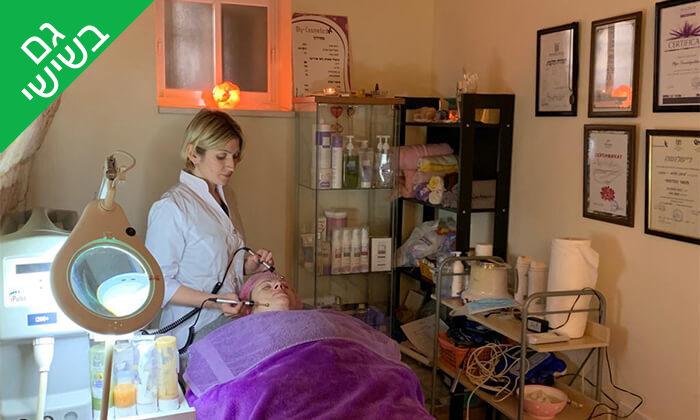 2 טיפול פנים בטכנולגיית אולטרסאונד ב-Oly cosmetics, המושבה הגרמנית חיפה