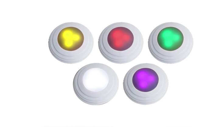 6 5 נורות לד אלחוטיות מחליפות צבעים