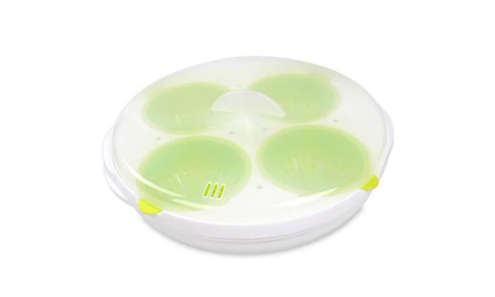 4 כלי להכנת ביצים במיקרוגל