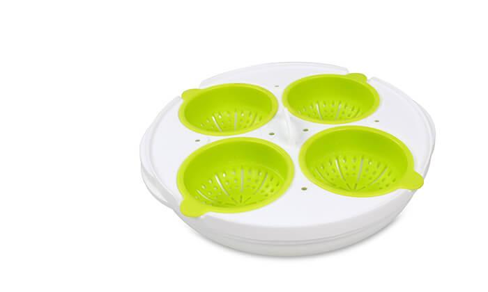 5 כלי להכנת ביצים במיקרוגל