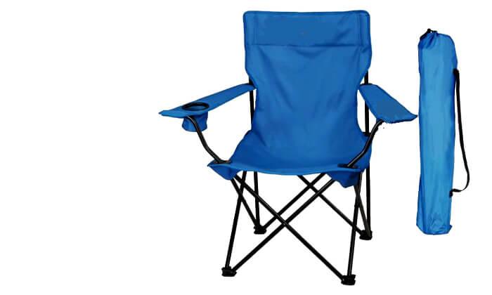 3 זוג כיסאות במאי מתקפלים